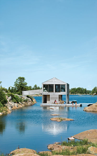 Slideshow: 6 Modern Lakeside Homes | Dwell