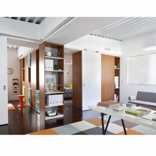 Baldwin Hills,modern colorful office