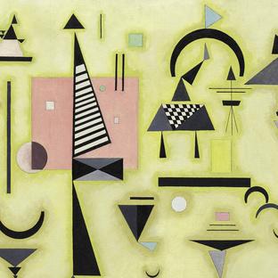 Vasily Kandinsky Decisive Rose