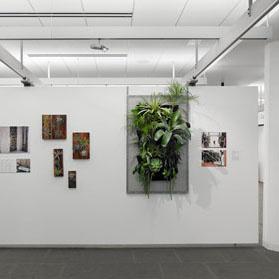 Vertical Gardens exhibition at AIASF Location: San Francisco, California