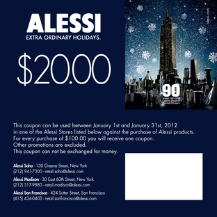 alessi holiday