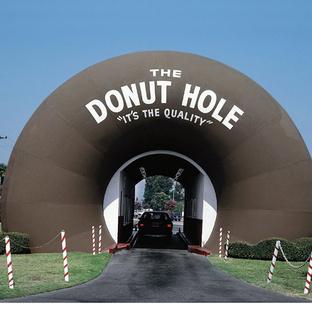 The Donut Hole. La Puente, California 1991