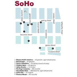 soho design walk