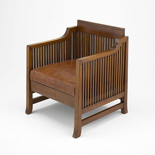 Spindle Cube Chair, 1902/06