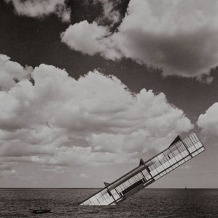 The Titanic, 1979, photomontage on paper by Stanley Tigerman.
