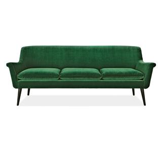 Green Murphy 81-inch sofa by Room & Board.