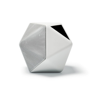 Geometric compact portable speaker