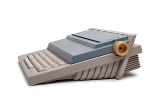 Personal 55 typewriter by the electric company Olivetti's design.