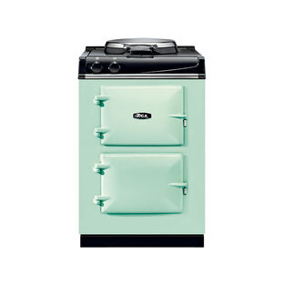 Modern kitchen appliances that come in a range of colors like the City24 cast iron range from Aga Marvel for small spaces
