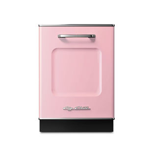 Modern kitchen appliances that come in a range of colors like the retro dishwasher from Big Chill