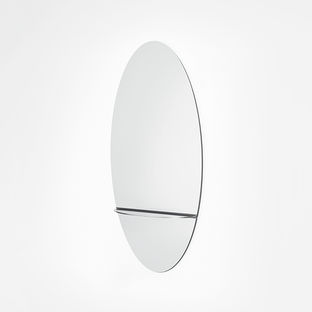 Modern Made in the USA America products like Coalesce wall mirror by Steven Haulenbeek from Michigan