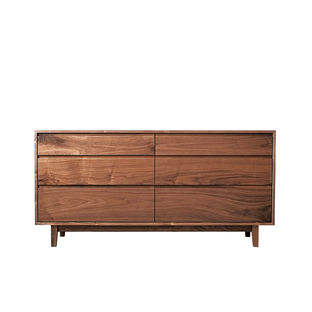 Modern Made in the USA America products like the Hayward dresser from Hedge House Furniture from Indiana