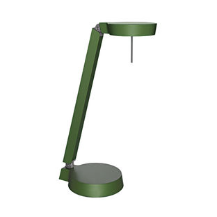 Peach and Green furniture and products including the CKR W081t1 LED task lamp made of aluminum