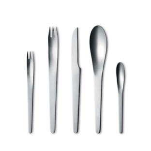 Five-Piece Cutlery Set by Arne Jacobsen for Georg Jensen