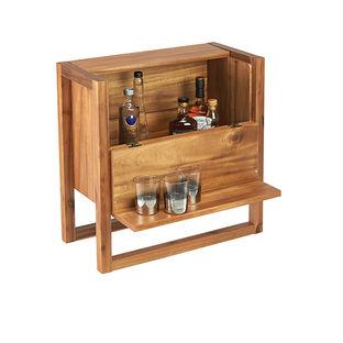 Elixir Minibar by CB2 acacia-wood-cabinet