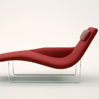 Jeffrey Bernett on the Landscape Chaise for B&B Italia