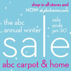 ABC Carpet & Home: Annual Winter Sale