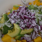 Avocado, Mango & Fennel Salad
