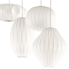 George Nelson Criss Cross Bubble Lamps
