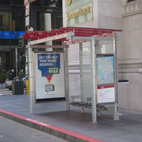San Francisco's New Bus Shelters