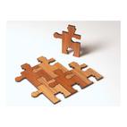 Robot Puzzle Trivet Set