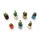 Off the Wall Mini Flowerpots