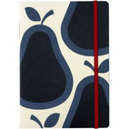 Pear Print A5 Bound Note Book