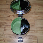 Pedal Bin with Bio Bucket