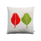 Leaf Motif Pillow