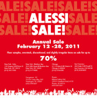 Alessi's 2011 Annual Sale
