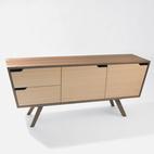 Angled Credenza Dresser