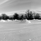 """Buffalo's """"Blank Snow"""" Park"""