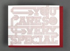 You Are So Very Special Card
