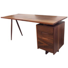 Nakashima Single Pedestal Desk