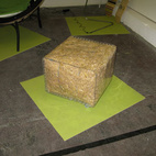 London Design Festival: Straw Bale Seat