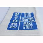 Design Advice Dishtowel