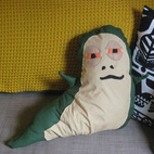 Jabba the Hutt Pillow