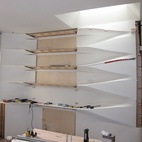 Making the Corian Shelf