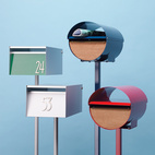 5 Modern Mailboxes