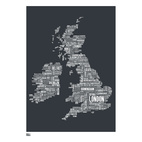 UK Type Map