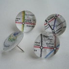 Mymiyel Marble Pushpins