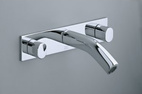 Oblo wall-mount lavatory faucet