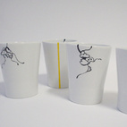 Handpainted Cups