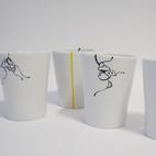 Handpainted Cups
