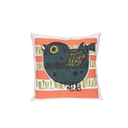 Shadow Bird Pillow