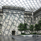 Kogod Courtyard at the Smithsonian