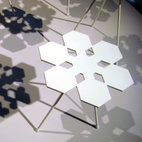 From Stockholm: Snowflakes Tables