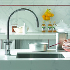 Tara. single-hole basin mixer