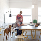 A Bright Work Space in Milwaukee