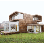 Modern Recycled House in the Netherlands